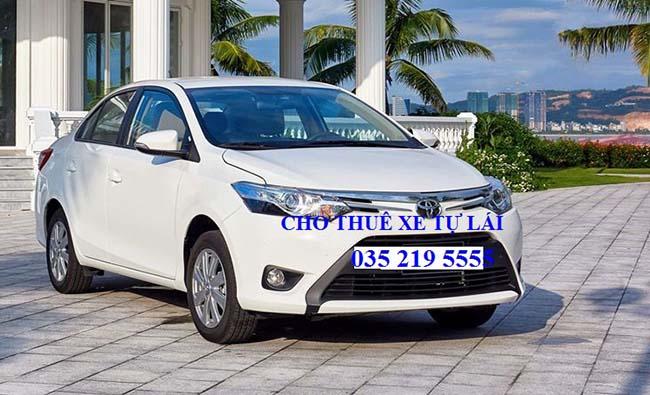Cho thuê xe Toyota Vios số tự động 2017 (5 chỗ)