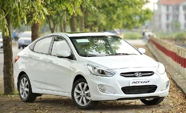 Cho thuê xe Hyundai Accent số tự động 2017 (5 chỗ).