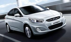 Bảng giá thuê xe Hyundai Accent AT (5 chỗ)