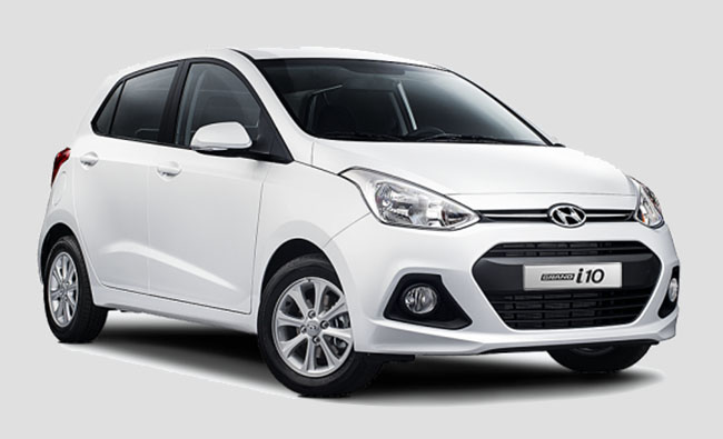 Bảng giá thuê xe Hyundai i10 AT (5 chỗ)