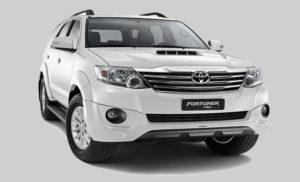 Bảng giá thuê xe Toyota Fortuner AT (7 chỗ)