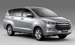 Bảng giá thuê xe Toyota Innova AT (7 chỗ)